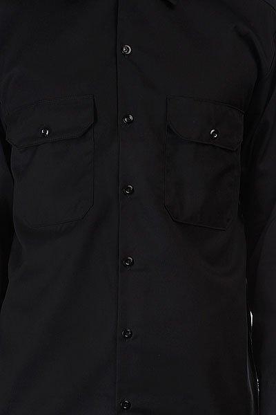 Рубашка Dickies Long Sleeve Work Shirt Black