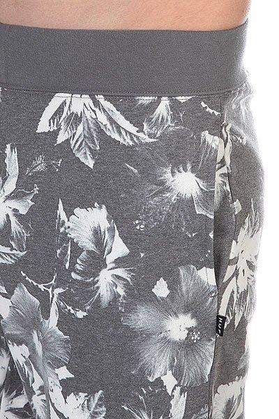 Штаны прямые Huf Floral Sweatpant Black Floral