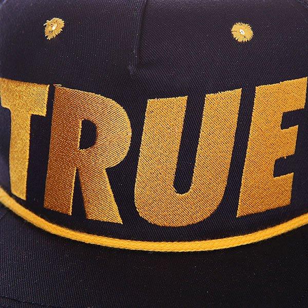 Бейсболка с сеткой TrueSpin True Trucker Black