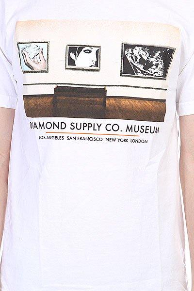 Футболка Diamond Gallery Tee White