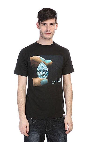 Футболка Diamond Arabic Shining Tee Black