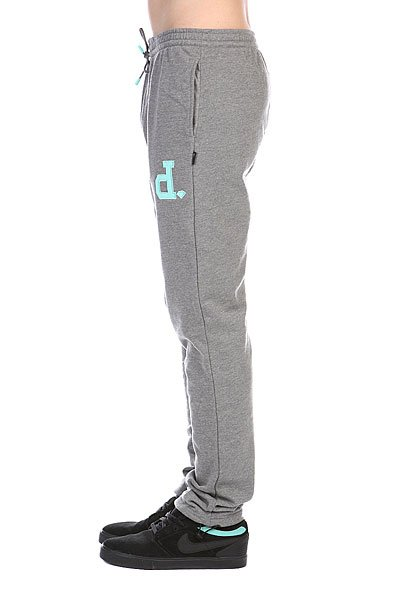 Штаны прямые Diamond Un-polo Sweats Gunmetal