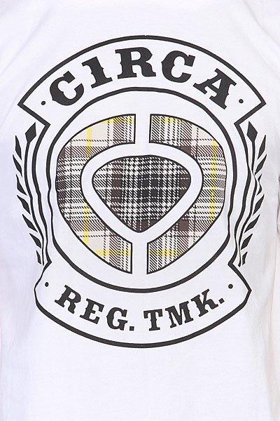 Футболка Circa Icon Bomber Tee White