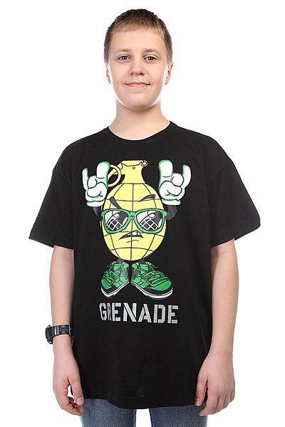 Футболка Grenade Rock On Black/Yellow