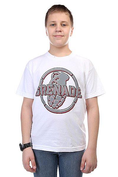Футболка детская Grenade Metal Mark White