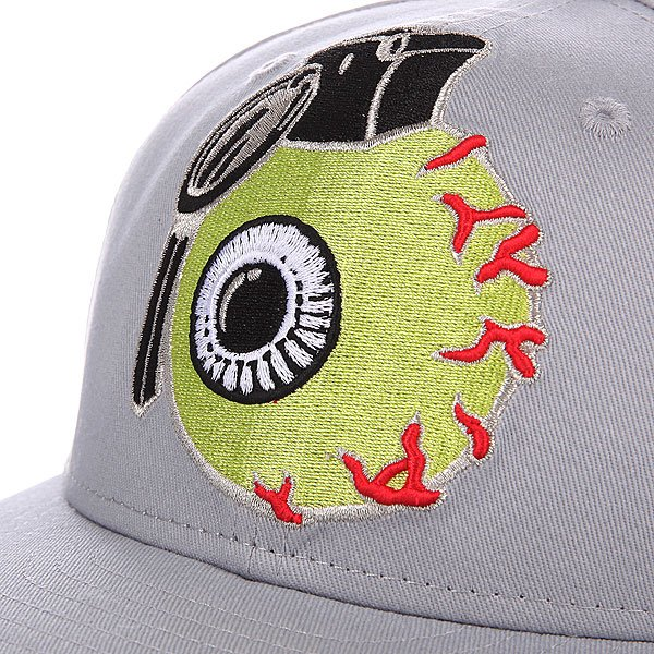 Бейсболка детская Grenade Youth New Era Eyeball Snap Gray