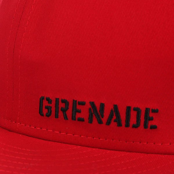 Бейсболка New Era Grenade Rear Cropper NewEra Red/Black