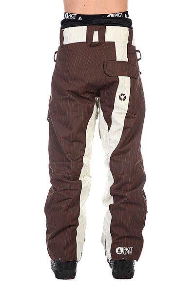 Штаны сноубордические Picture Organic Cover Brown/Baige