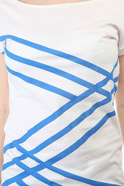Футболка женская Picture Organic Zigzag White