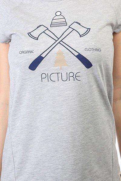 Футболка женская Picture Organic Cutter Grey