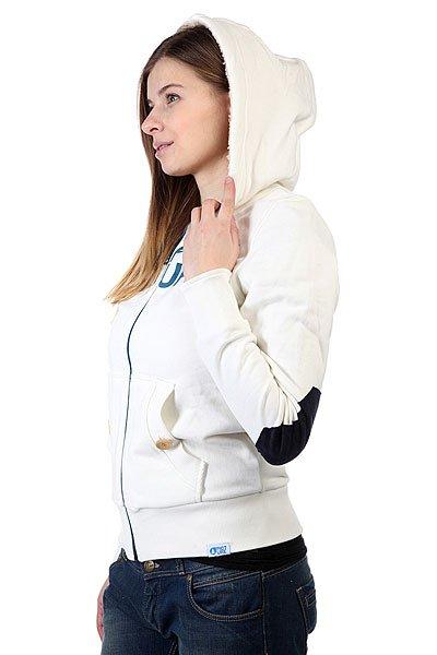 Толстовка утепленная женская Picture Organic Basement Plush Sweat White
