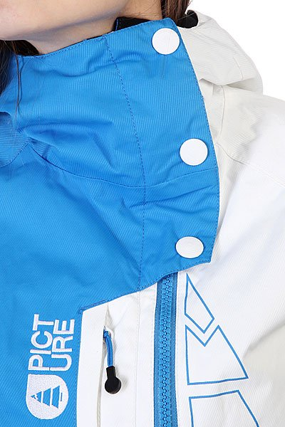 Куртка женская Picture Organic Jkt True White/Blue