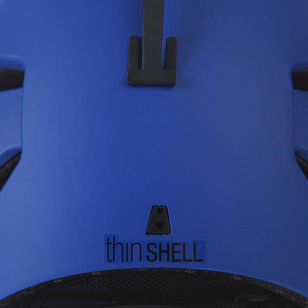 Шлем для сноуборда детский Bern Bandito Eps Liner Matte Cobalt Blue/Black