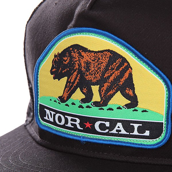 Бейсболка с сеткой Nor Cal Park Ranger Trucker Black