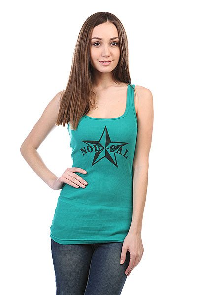 Майка женская Nor Cal Nautical 2 U-Neck Tank Evergreen