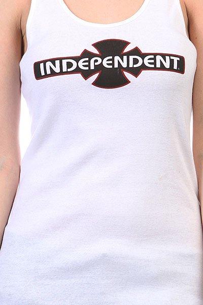 Майка женская Independent O.g.b.c. Racer Back Tank White