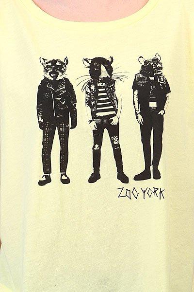 Футболка женская Zoo York Rat Punks Lemonade