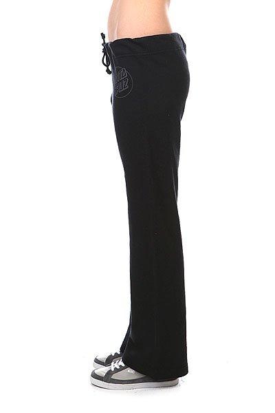 Штаны широкие женские Santa Cruz Opus Dot Straight Leg Black