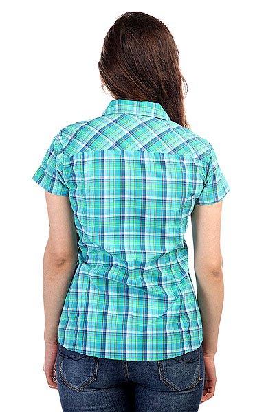 Рубашка в клетку женская Marmot Wms Codie Ss Atomic Blue
