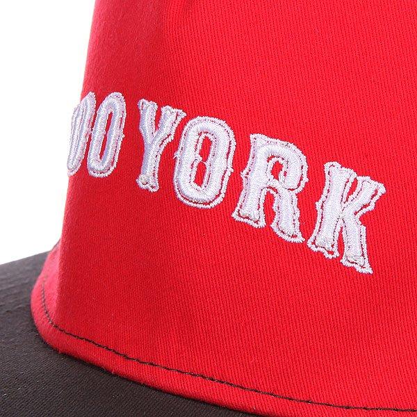 Бейсболка Zoo York Academy Crimson