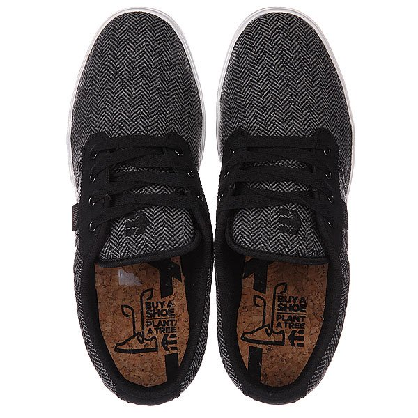 Кеды низкие Etnies Etnies Jameson 2 Eco Black/Grey/Grey