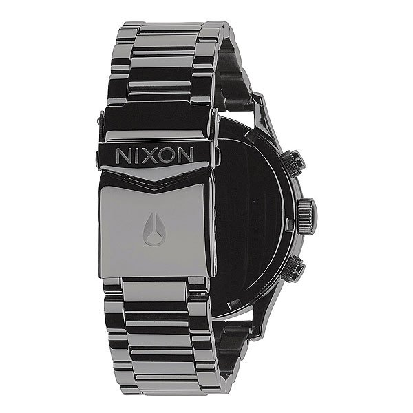 Часы Nixon Sentry Chrono Polished Gunmetal/Lum