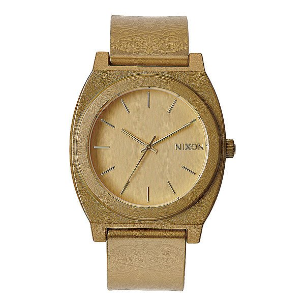 Часы Nixon Time Teller P Metallic Gold/Beetlepoint