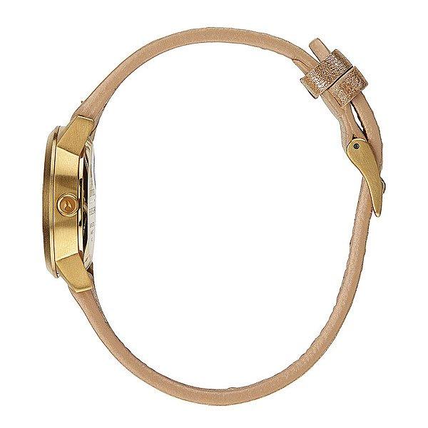 Часы женские Nixon Kenzi Leather Gold Shimmer