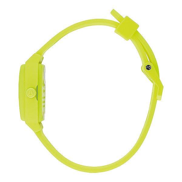 Часы женские Nixon Small Time Teller P Neon Yellow/Beetlepoint
