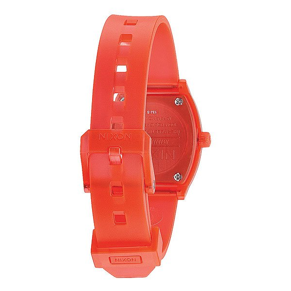 Часы женские Nixon Small Time Teller P Translucent Coral