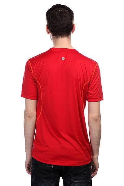 Футболка Marmot Windridge With Graphic Team Red