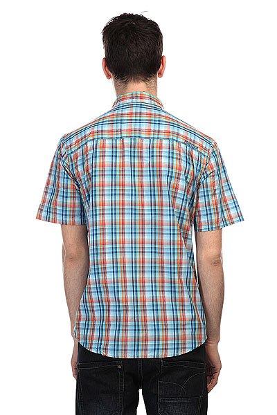 Рубашка в клетку Marmot Waldron Crystal Blue
