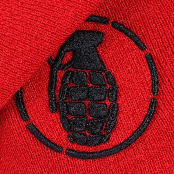 Шапка носок Grenade New Era Stenz Sloucher Red