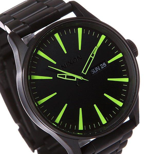Часы Nixon Sentry Ss All Black/Lum