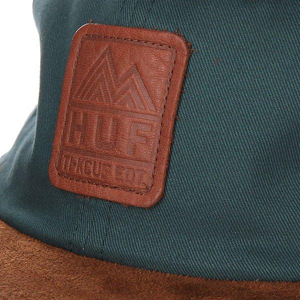 Бейсболка Huf Ascent 6 Panel Jade