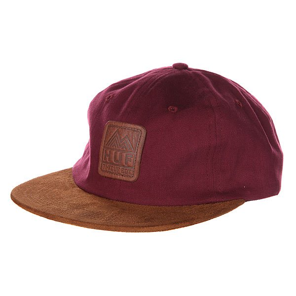 Бейсболка Huf Ascent 6 Panel Wine