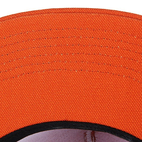 Бейсболка Huf BTO Script Duck Snapback Burnt Orange