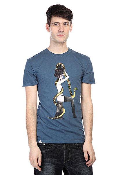 Футболка Altamont Snake Charmer Blue