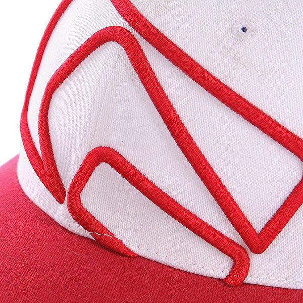 Бейсболка Flexfit Globe Carlisle Flexfit Red/Blue