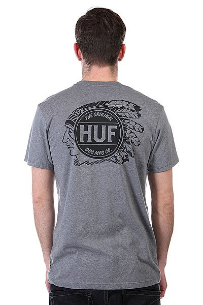 Футболка Huf Native Grey Heather