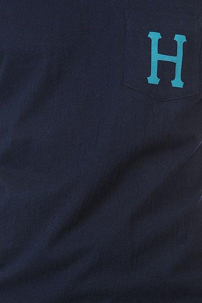 Футболка Huf Classic H Pocket Navy