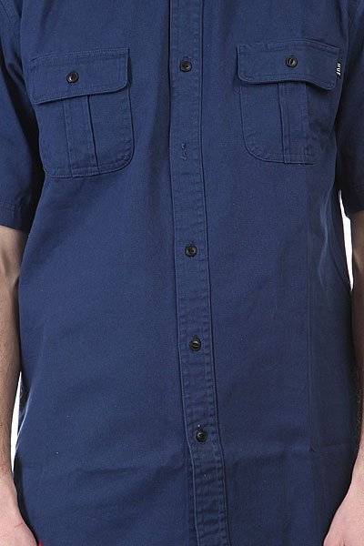 Рубашка Huf Huf Twill Work Shirt Navy