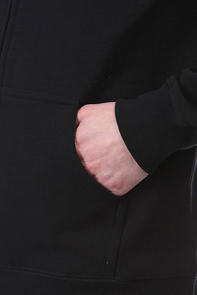 Толстовка Huf Huf Usa Dbc Zip Up Premium Hood Black