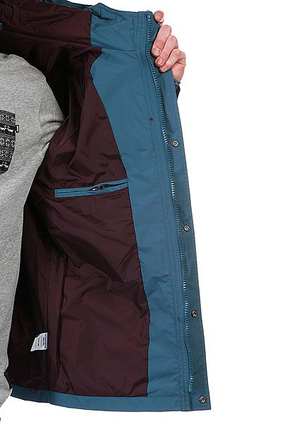 Куртка парка Huf Ascent Mountain Parka Jade/Wine