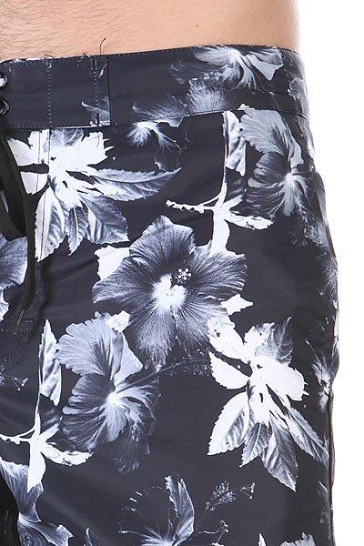 Шорты пляжные Huf Floral Boardshort Black Floral
