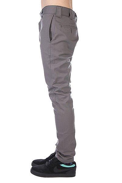 Штаны прямые Dickies Slim Skinny Work Pant Gravel Grey