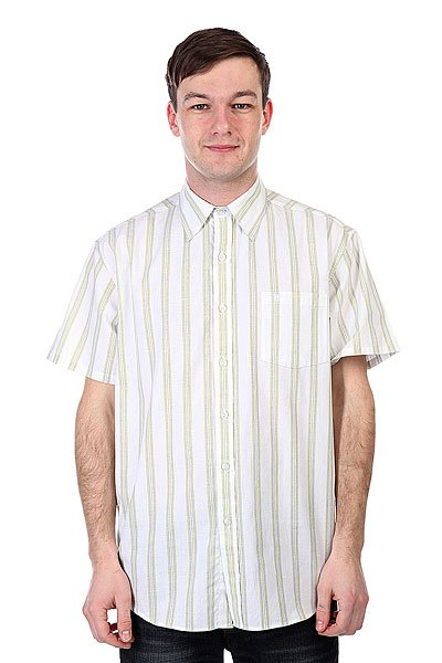 Рубашка Fallen Richmond Button Up White/Lime