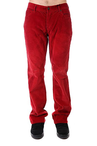 Штаны прямые Fallen Chris Cole Signature Cords Red