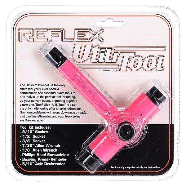 Ключ для скейтборда Reflex Tool Pink/Black
