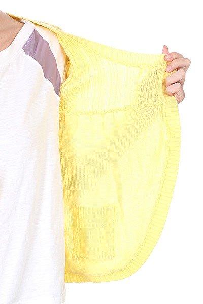Кардиган женский Animal Europe S/S Cardi Yellow